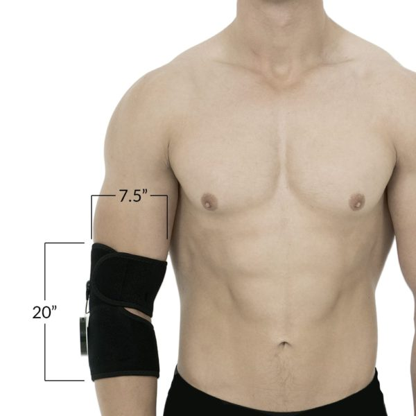 CareMed Elbow Wrap Dimensions