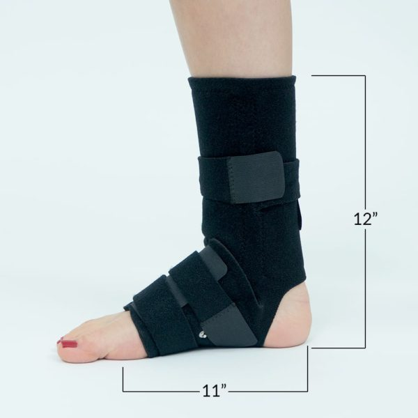 CareMed Foot Wrap Dimensions
