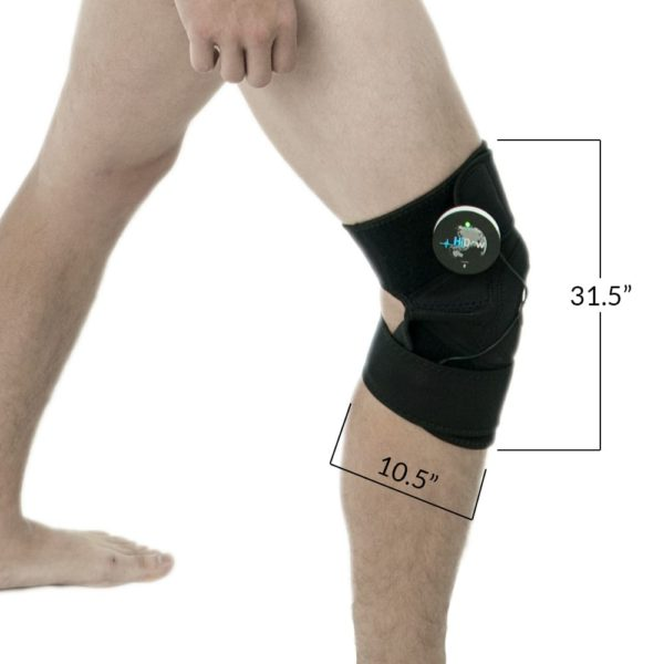 CareMed Knee Wrap Dimensions