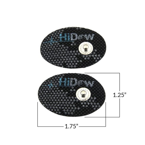 CareMed Small Electrode Pads Dimentions